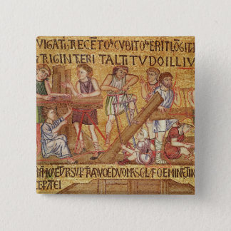 The Flood, from the Atrium, detail of the 15 Cm Square Badge