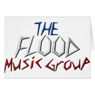 The Flood Music Groupe Greeting Card