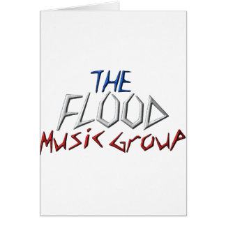 The Flood Music Groupe Greeting Cards
