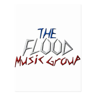 The Flood Music Groupe Postcard