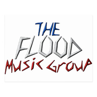 The Flood Music Groupe Post Card