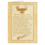 The Florence Nightingale Pledge Greeting Card