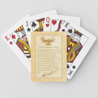 The Florence Nightingale Pledge Playing Cards