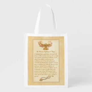 The Florence Nightingale Pledge Reusable Grocery Bag