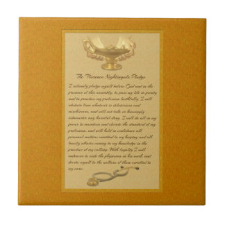 The Florence Nightingale Pledge Tile