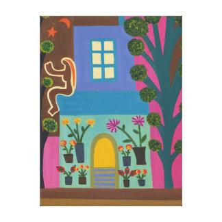 The Florist on Portobello Road 2011 Canvas Print