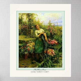 The Flower Boat ~ Daniel Ridgway Knight Posters