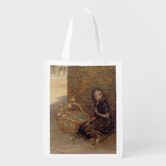 The Flower Girl, 1872 (oil on canvas) Grocery Bags
