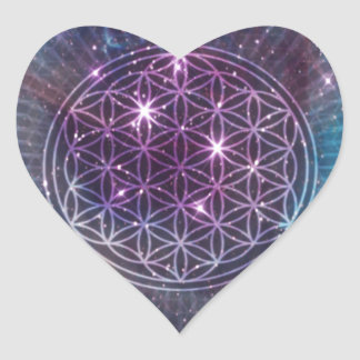 The Flower Heart Sticker