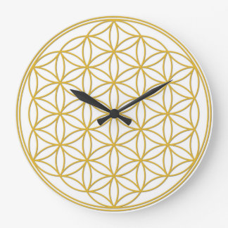 The flower of the life - clock approximately