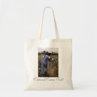 The Flower Picker Budget Tote Bag
