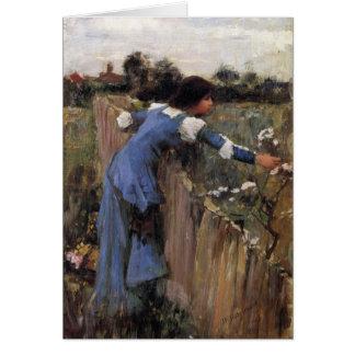 The Flower Picker Card