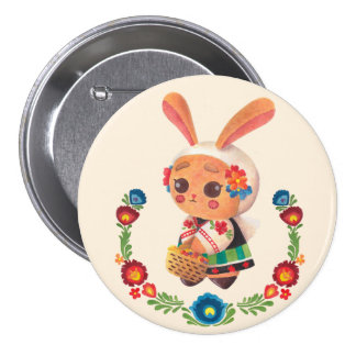 The Flower Polish Bunny Buttons