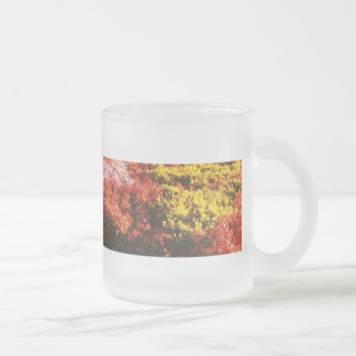 The Flowers Frosted Glass Mug
