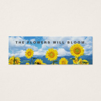 The Flowers Will Bloom Random Acts Kindness Card