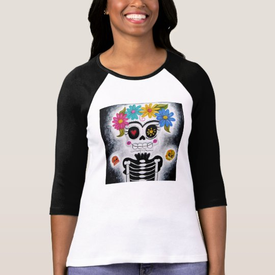 The Flowery Skull T-Shirt
