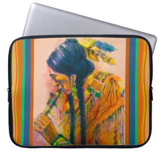 The Flute Player Laptop Sleeve