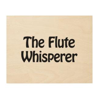 the flute whisperer wood prints
