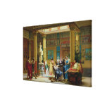 The Fluteplayer' and 'The Diomedes' wife' Gallery Wrap Canvas