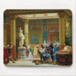 The Fluteplayer' and 'The Diomedes' wife' Mouse Pad