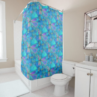 The Fluttering Shower Curtain