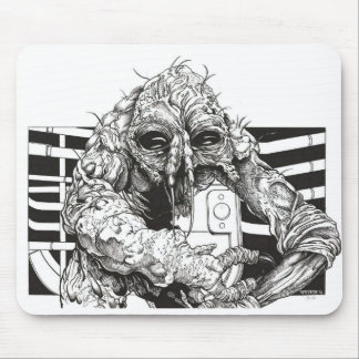 The Fly Brundlefly horror Mouse Mat
