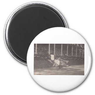 The Flying Bicycle 6 Cm Round Magnet
