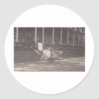 The Flying Bicycle Classic Round Sticker