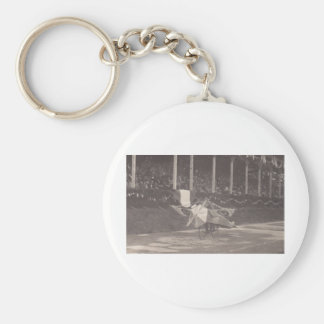 The Flying Bicycle Key Ring