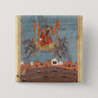 The Flying Carpet 15 Cm Square Badge