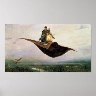 The Flying Carpet Poster