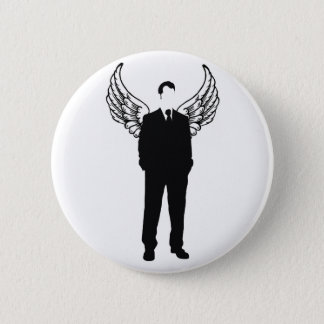 The Flying Congressman 6 Cm Round Badge