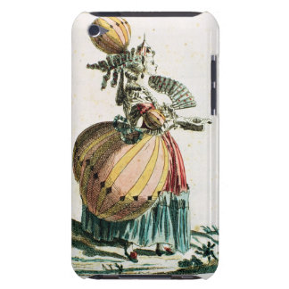 The Flying Coquette, c.1784 (colour engraving) Barely There iPod Case