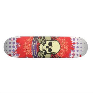 The Flying Demon Skulls Skateboard