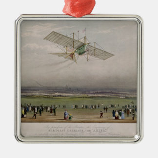 The Flying Machine Christmas Ornament
