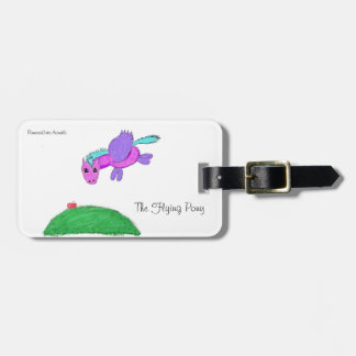 The Flying pony Luggage Tag
