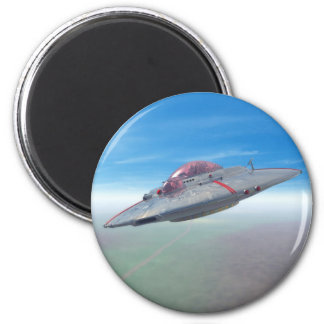 The Flying Saucer Magnet