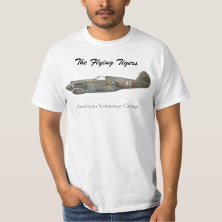 The Flying Tigers P-40 Tshirts