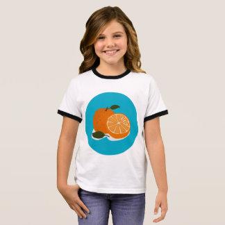 The Food - Orange Ringer T-Shirt