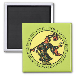 The Fool Magnet with Text