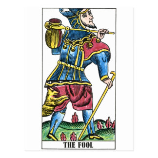 The Fool or Jester Tarot Card