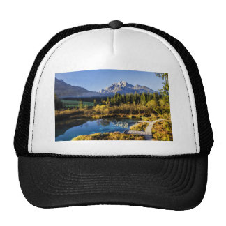 The foot of Alpen Mountain panorama exoticism Cap