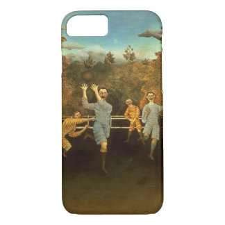 The Football players,1908 (oil on canvas) iPhone 8/7 Case