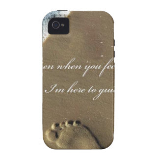 THE FOOTPRINT OF GOD Case-Mate iPhone 4 COVER