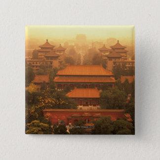 The Forbidden City 15 Cm Square Badge