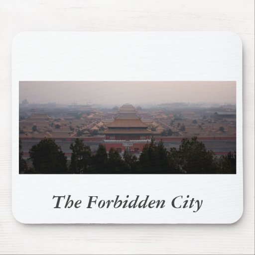 The Forbidden City Mouse Pads
