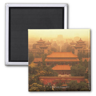 The Forbidden City Square Magnet