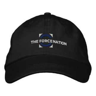The Force Nation Black Cap Embroidered Cap