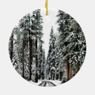 The Forest Christmas Ornament