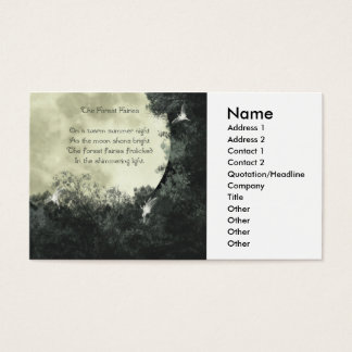 The Forest Fairies Business Card